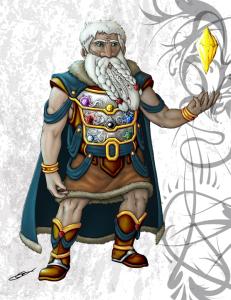 Ruby, Son of Sapphire, Dwarf Wizard